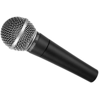 Динамический кардиоидный вокальный микрофон Shure SМ58-LCE