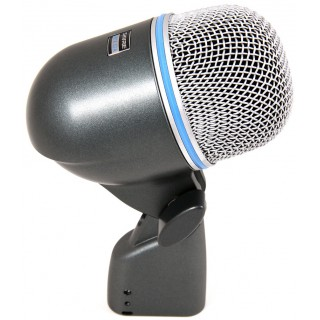 Динамический суперкардиоидный микрофон для большого барабана Shure BETA 52A