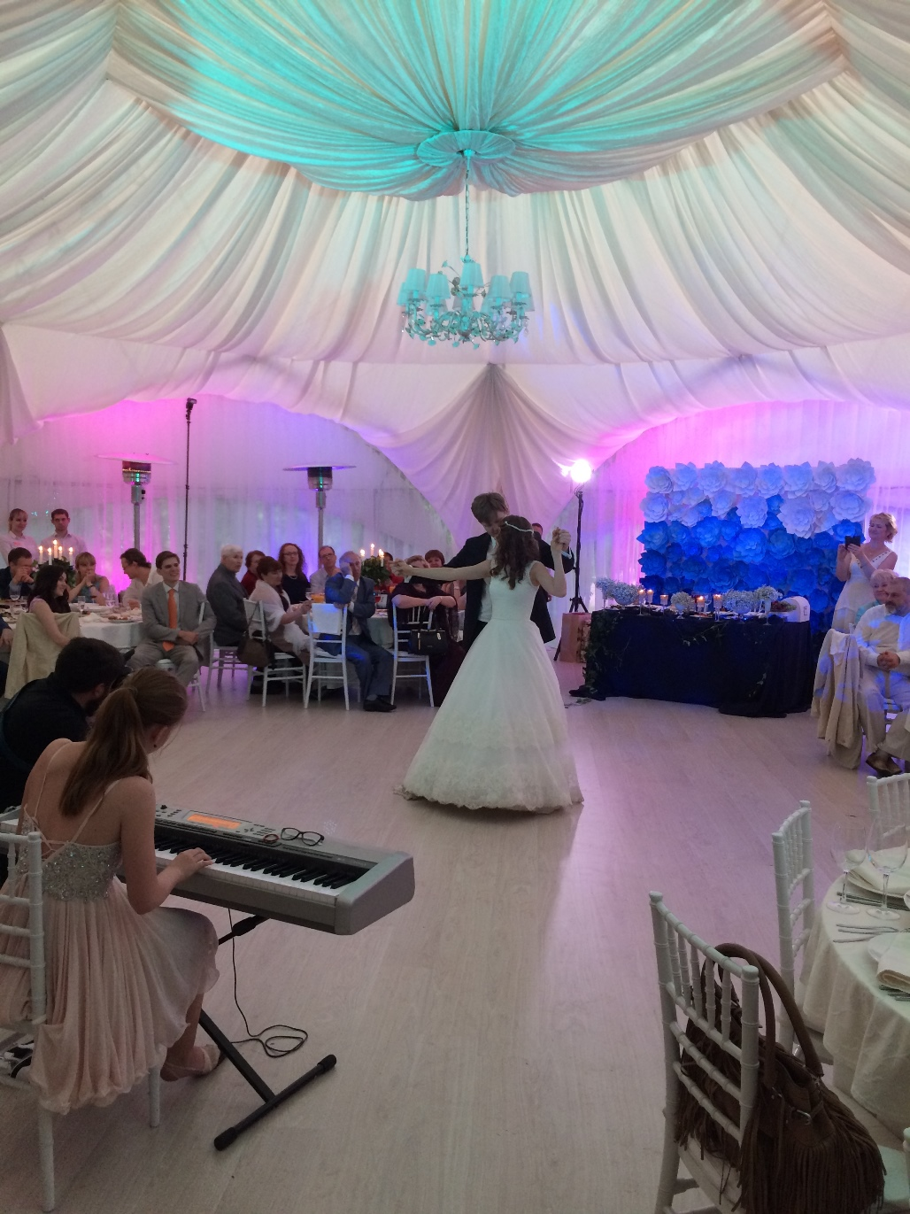 Фото свадеб в павильоне