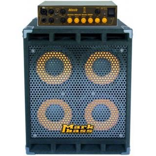 Басовый кабинет Markbass STD104HF с усилителем Little Mark Tube 800