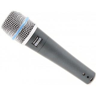 Динамический суперкардиоидный инструментальный микрофон Shure BETA 57A